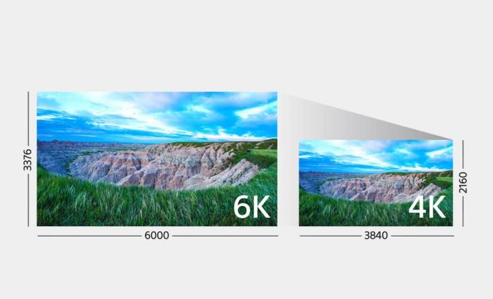 由於 a9 備有高讀取速度的全片幅感光元件,拍攝出來的 4K 影像資料量已達到 6K 的級數,此機的 4K 影片是以 6K 資料 oversampling 產生出來的。
