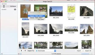 使用 Image Capture (Mac) 或 File Explorer (Win) 瀏覽「(你的電腦)> Internal Storage > DCIM 」來匯入 Live Photos;