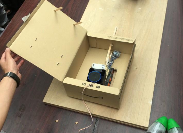鼠王芬的咀砲構造殊不簡單,還備有音響裝置。
