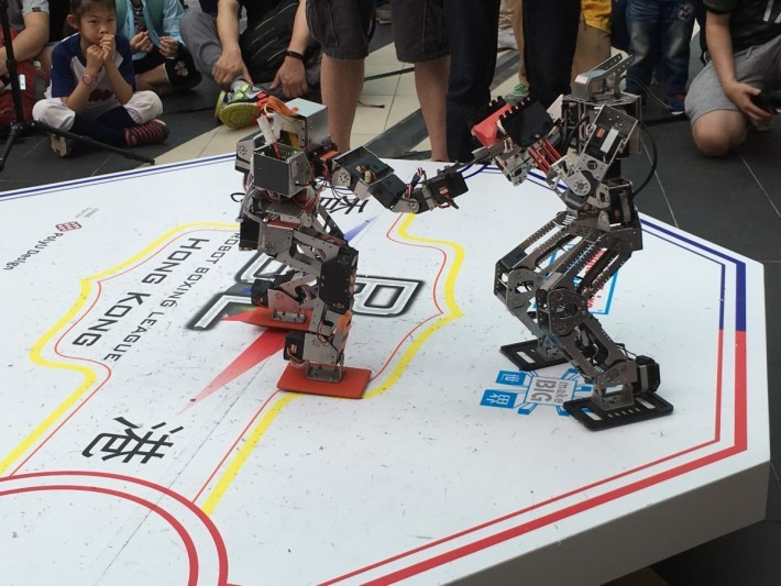 機械人格鬥刺激程度不比真人格鬥低