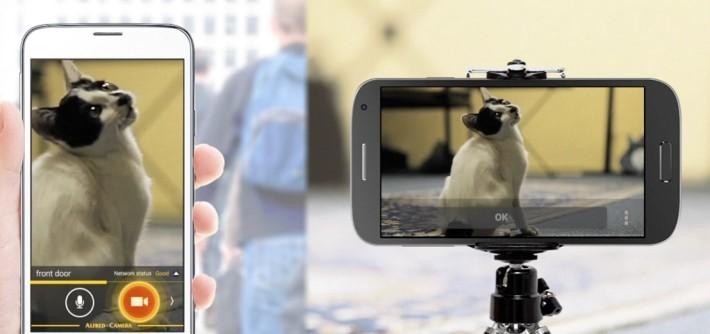 用戶透過電話實時監控,亦可遙控錄影。