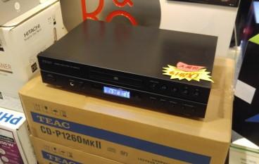 發燒入門之選 TEAC CD-P1260mkII