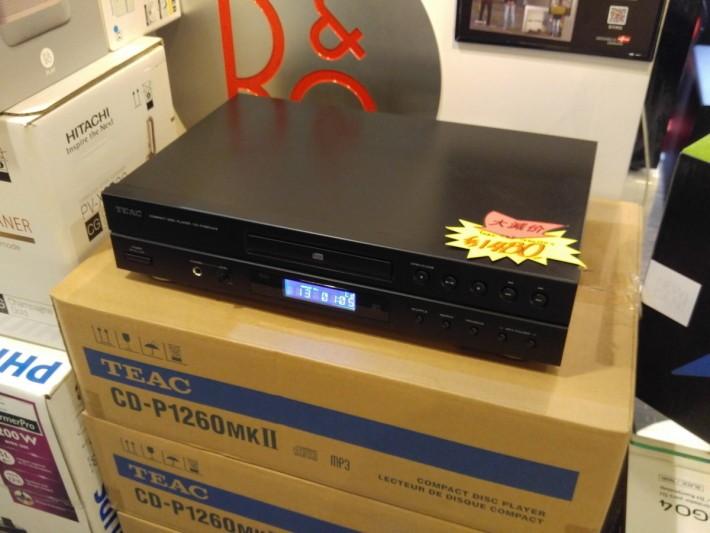 TEAC 作為平玩 CD 機亦有質素保證。