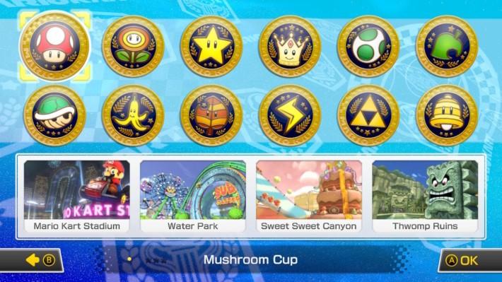 今集擁有 12 個不同盃賽,多達 48 條賽道,各位征服全部賽事嗎?