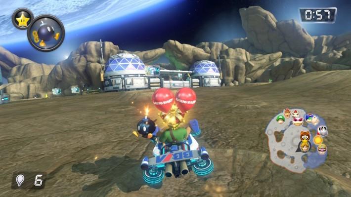 Bob-omb Blast 類似傳統汽球戰,不過道具就只限炸彈。