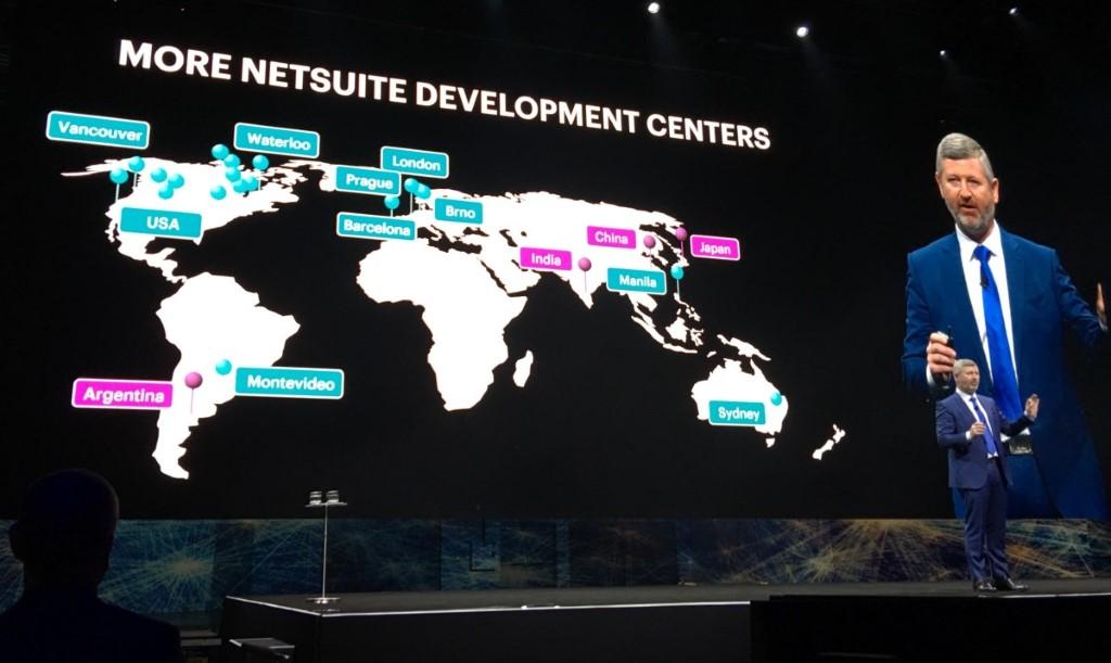 NetSuite 被甲骨文收購後,利用後者的全球規模加速擴充步伐。