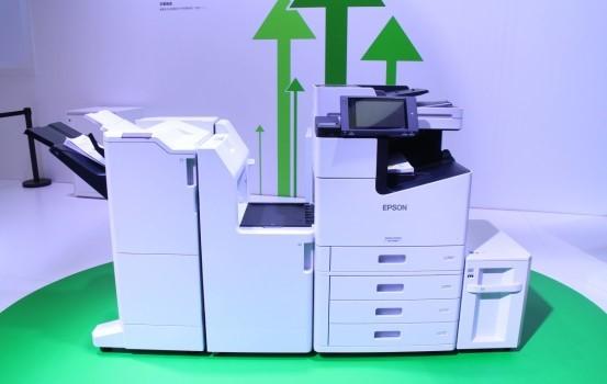 每分鐘印100張 Epson超高速商用噴墨打印機