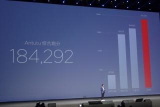 官方數據指小米 6 處理器速度比 S8 更高。