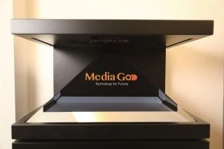 3D 全息投影顯示方案是 Media-Go 發展數碼顯示方案的嶄新科技之一。