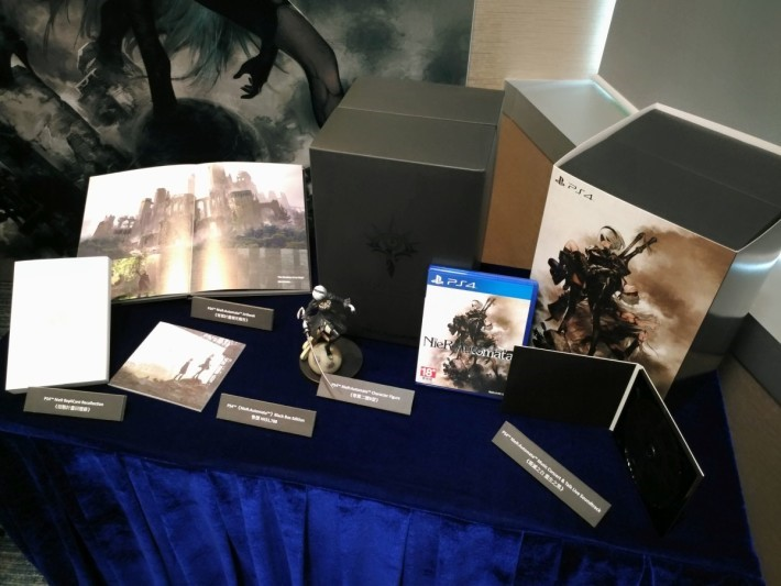 《NieR:Automata》 Black Box Edition,官方定價 $1,788。