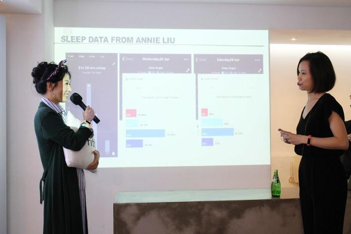 Alta HR 加入 Sleep Stages 功能,利用心率差異去計算每晚的輕度睡眠、深度睡眠、REM睡眠及清醒的時間,了解自己的睡眠質量,配合 Sleep Insights 更會有指引與輔助,令用戶可改善睡眠貿素。