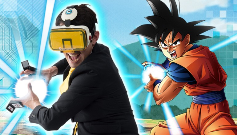 置身龍珠世界《Dragon Ball Z》VR 套件登場!