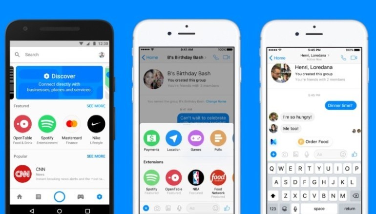 【 Facebook F8 】 Messenger 加強對話機械人服務並加入廣告配對功能