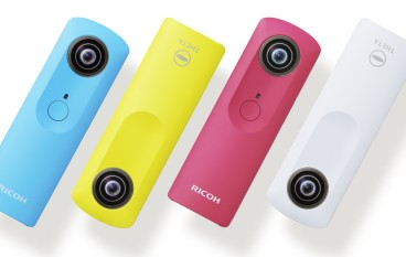 Ricoh 計劃擴大發展 Theta 系列 360 相機的規模