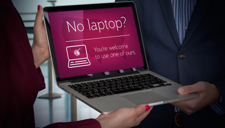 【你有張良計 我有過牆梯】 卡塔爾航空宣布提供免費 Notebook 借用服務