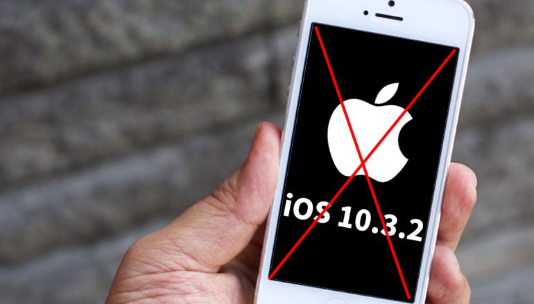 告別 32-bit !? iOS 10.3.2 疑不再支援 iPhone 5/5c