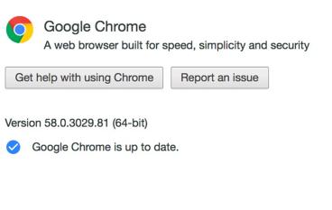 Google Chrome 版本 58 更新 修正多個高風險漏洞
