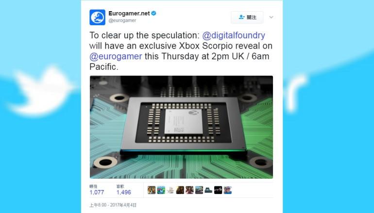 Digital Foundry 明晚 10 時獨家披露 Xbox Scorpio