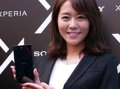 Sony Xperia XZ Premium 日本試玩