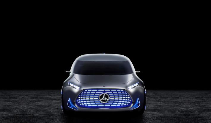 2015年發的 Mercedes Benz Vision Tokyo