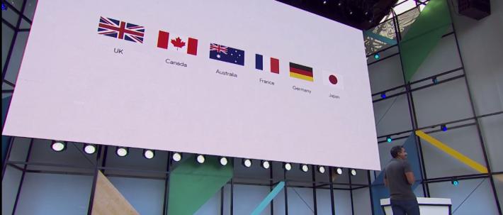 Google Assistant 將在今年夏天對應法文、德文、巴西葡萄牙文和日文。