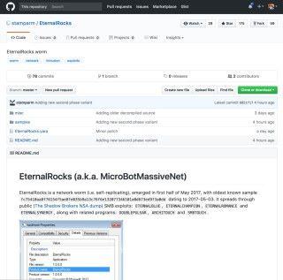 Miroslav Stampar 透過 GitHub 公開 BlueDoom ( EternalRocks )的樣本。