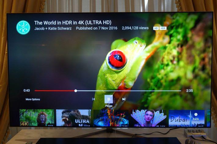 Samsung QLED電視已經對應YouTube HDR模式,其他4K智能電視暫時仍未能支援。