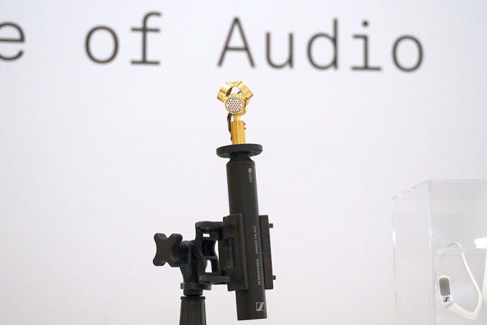 .AMBEO 較早前推出的 VR 收音咪,一支咪就能收錄環廻音效。
