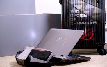 ASUS ROG GX800 水冷機王效能實測