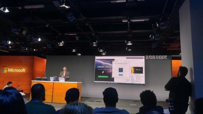 Windows 10 S 平台只會運行在 Store 中認證的程式,以提升安全性及運行速度。