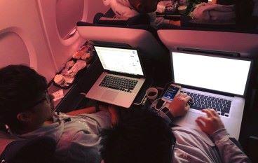 由香港飛到英國 Hack Horizon搞空中黑客松