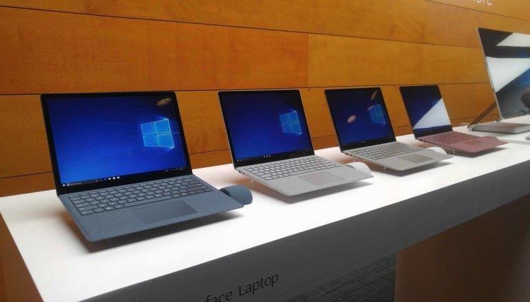 Surface Laptop 效能.續航力更勝 MacBook Pro