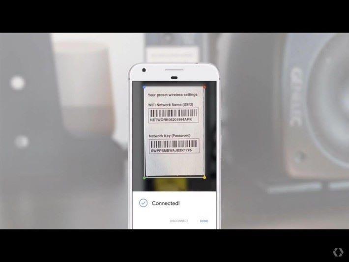分析圖中知訊再配合Google Assistant 來連接Wi-Fi也是可以的