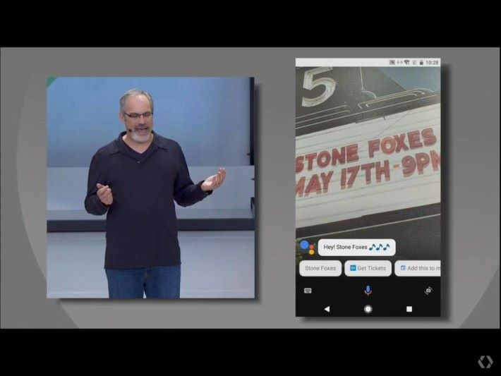 Google Assistant與Google Lens的連動也可熊用家排程活動及分析