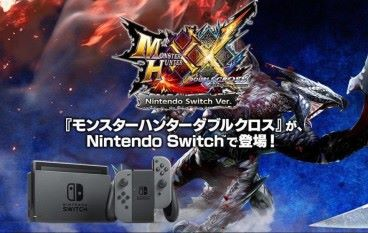Capcom 最強殺著《Monster Hunter XX》登陸 Switch