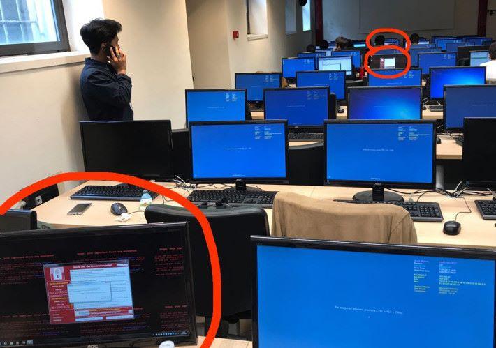 WannaCry 會橫向攻擊同一網絡上的電腦