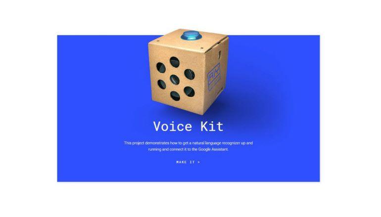 AIY Projects Voice Kit 將 AI 嵌入 Raspberry Pi $60 自製 Google Home
