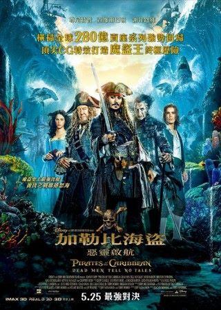 未上畫的迪士尼電影《加勒比海盜:惡靈啟航》