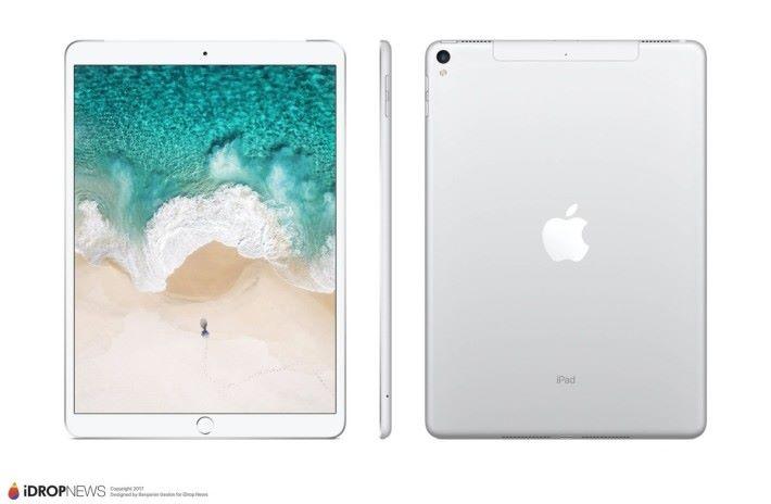 有設計師根據現有的資訊製作了 10.5吋 iPad Pro 的外觀。