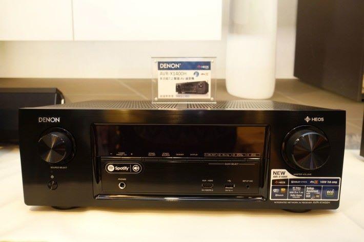 入門級價錢$ 3,940 的 HEOS 7.2 聲道播放器