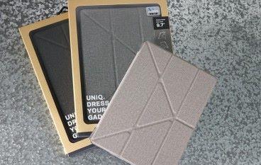 磅半的福音 UNIQ KANVAS 9.7吋 新iPad 保護套