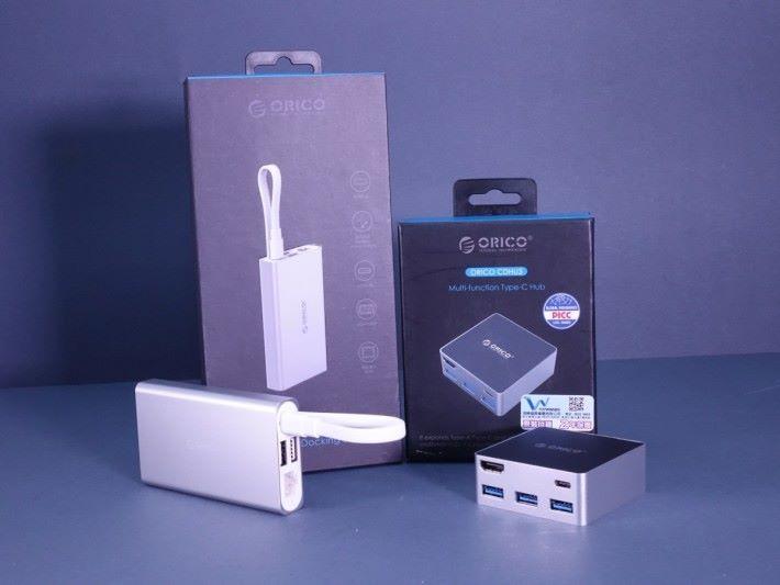 Orico 推出兩款 USB Type-C docking