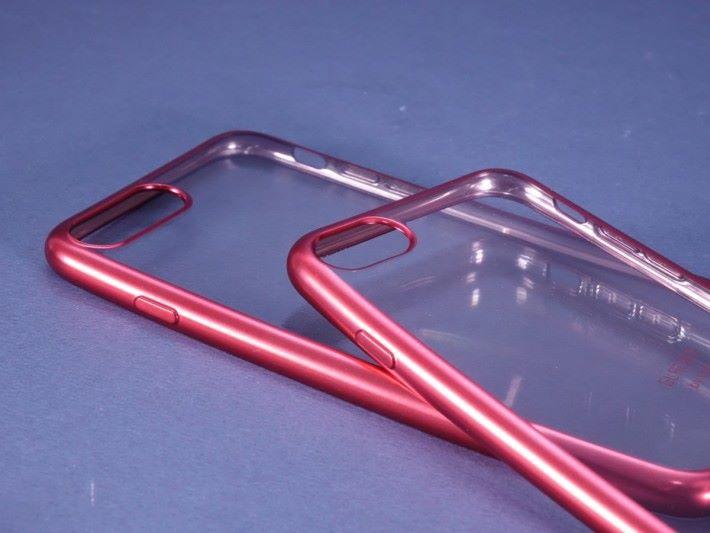 採用軟金屬框邊,為手機提供更佳的保護。