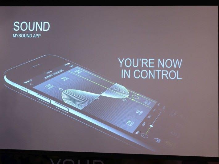 配上 Jaybird 專用的手機 app MySound 可以調較EQ