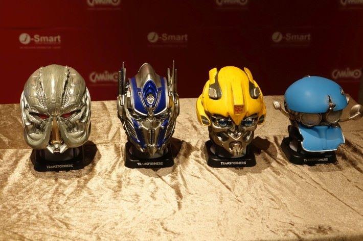另外四款角色造型的藍牙喇叭