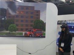 混合實境創造未來消防指揮概念