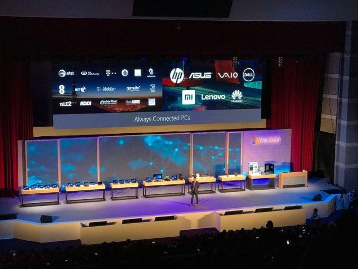 以 Qualcomm 手機處理器執行 Windows 10 的 PC 產品,將會在今年底登場。