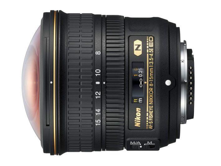 Nikon 8-15mm F3.5-4.5E ED
