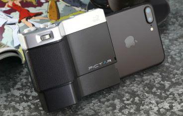 PICTAR 為 iPhone 增添手柄 拍攝設定直迫單反