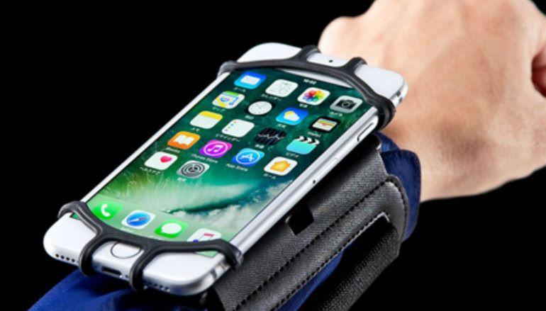 [你敢用我敢出] 日本 Sanwa 配戴式手機架
